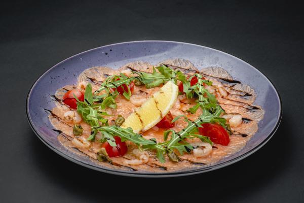Карпаччо с лосося