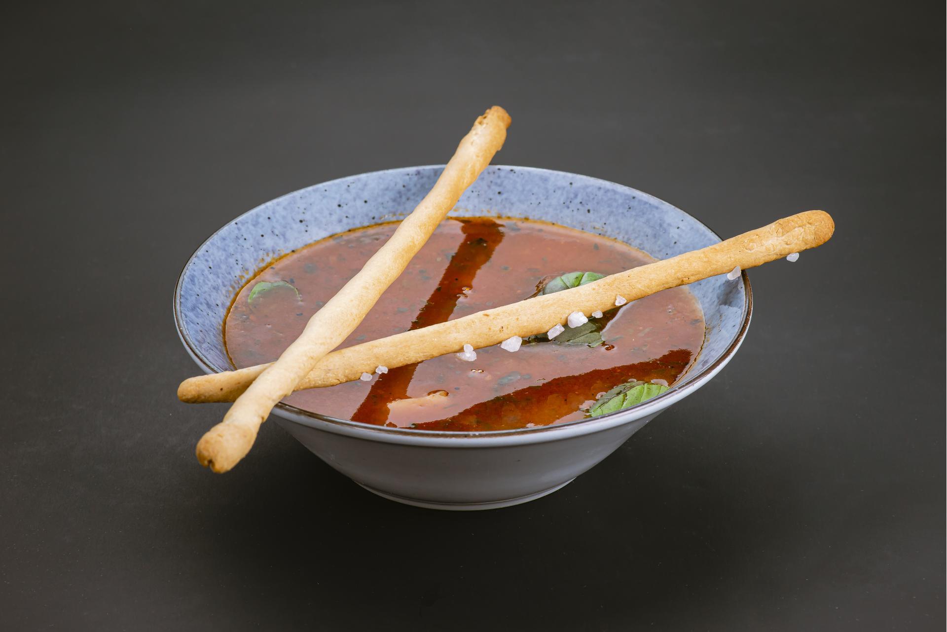 Суп на хоспере с тремя видами мяса